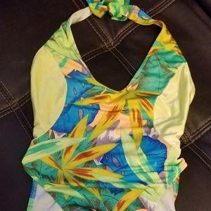 Ujena 1Piece Swim Suit Yellow sz 6